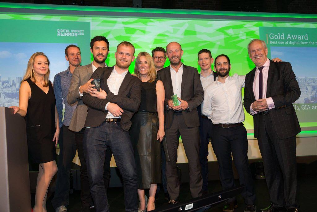 VUCITY digital impact awards