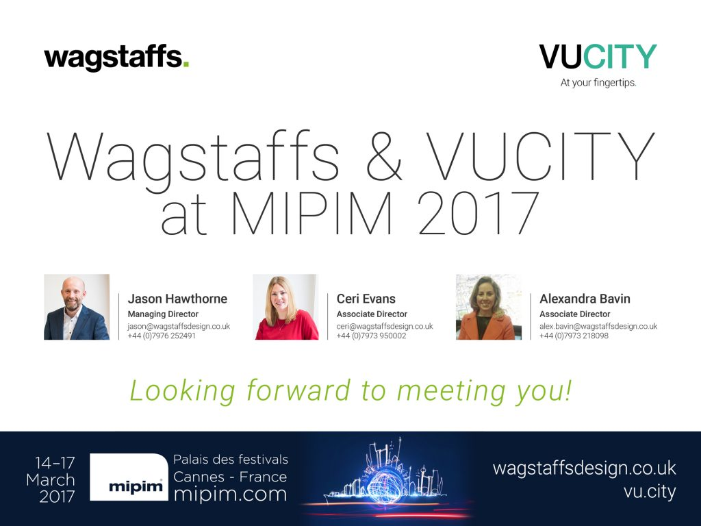 Wagstaffs and VUCITY at MIPIM
