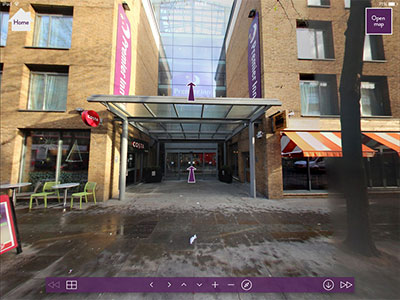 Premier Inn 360 walkthrough
