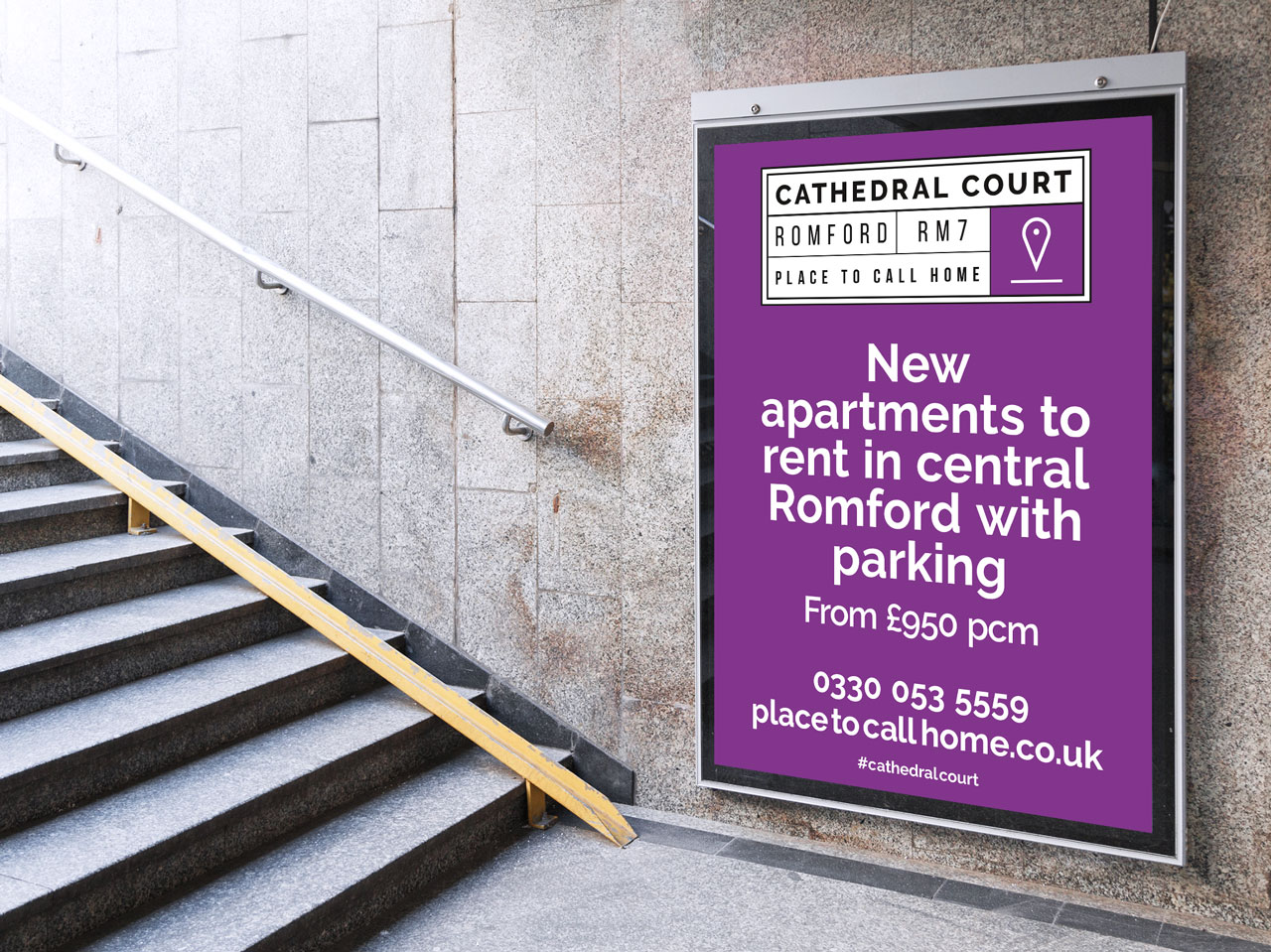 Place to call home 6 sheet advert